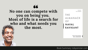 Book Summary: The Almanack of Naval Ravikant by  Eric Jorgenson   Insights For Your Career