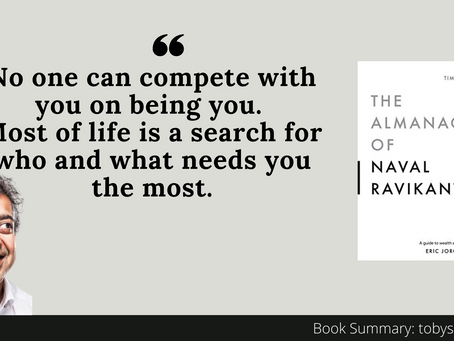 Book Summary: The Almanack of Naval Ravikant by  Eric Jorgenson | Insights For Your Career
