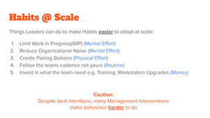 Changing Habits at Scale Slide 17