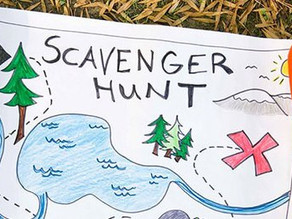 Scavenger Hunt – Training from the back of the room