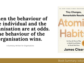 How To Use Atomic Habits at Work | The Big Ideas for Organisations