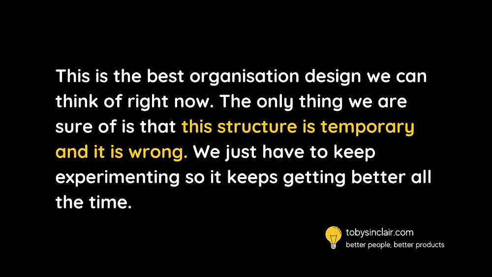 Organisation Design Quote