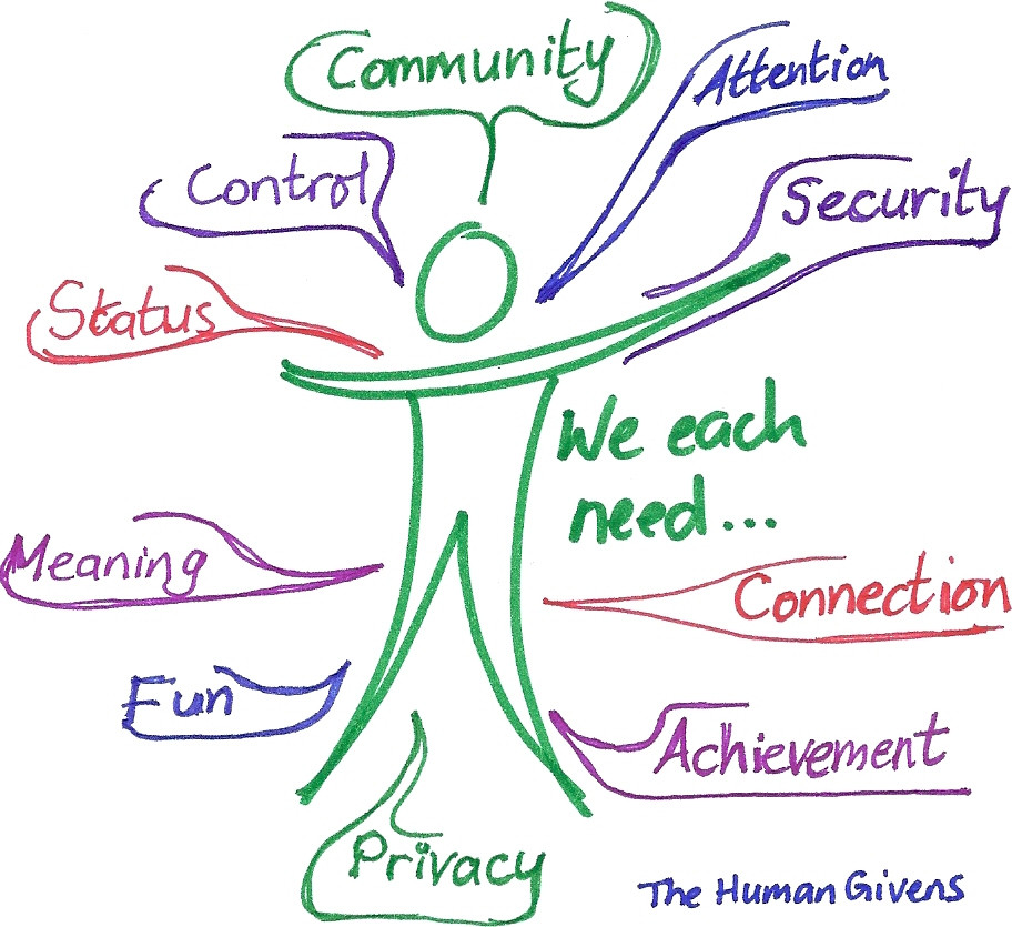 Human Given Needs Coaching Model