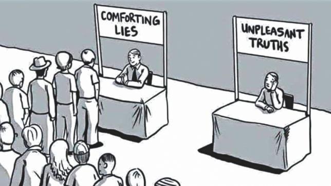 Cognitive Dissonance Cartoon