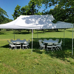 Tent Package 1 $150 (20 guests)