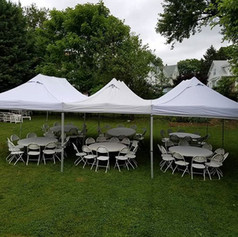 Tent Package 3 $400 (60 guests)