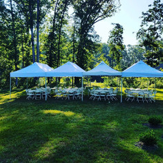 Tent Package 4 $530 (80 guest)