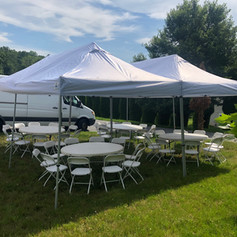 Tent Package 2 $330 (40 guests)