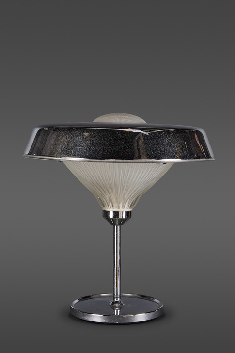 """A """"RO"""" TABLE LAMP DESIGNED BY THE ARCHITECTURAL PARTNERSHIP BBPR FOR ARTEMIDE"""