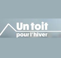 Logo Un toit pour l'hiver emission ave Espace Home Staging