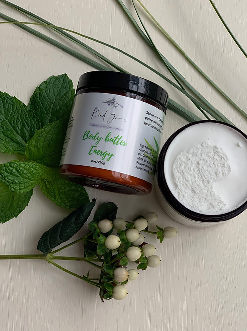 Kind Jo Natural & Organic Body Butter Energy