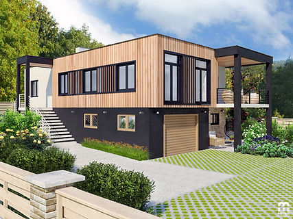 малоэтажный дом минск metric