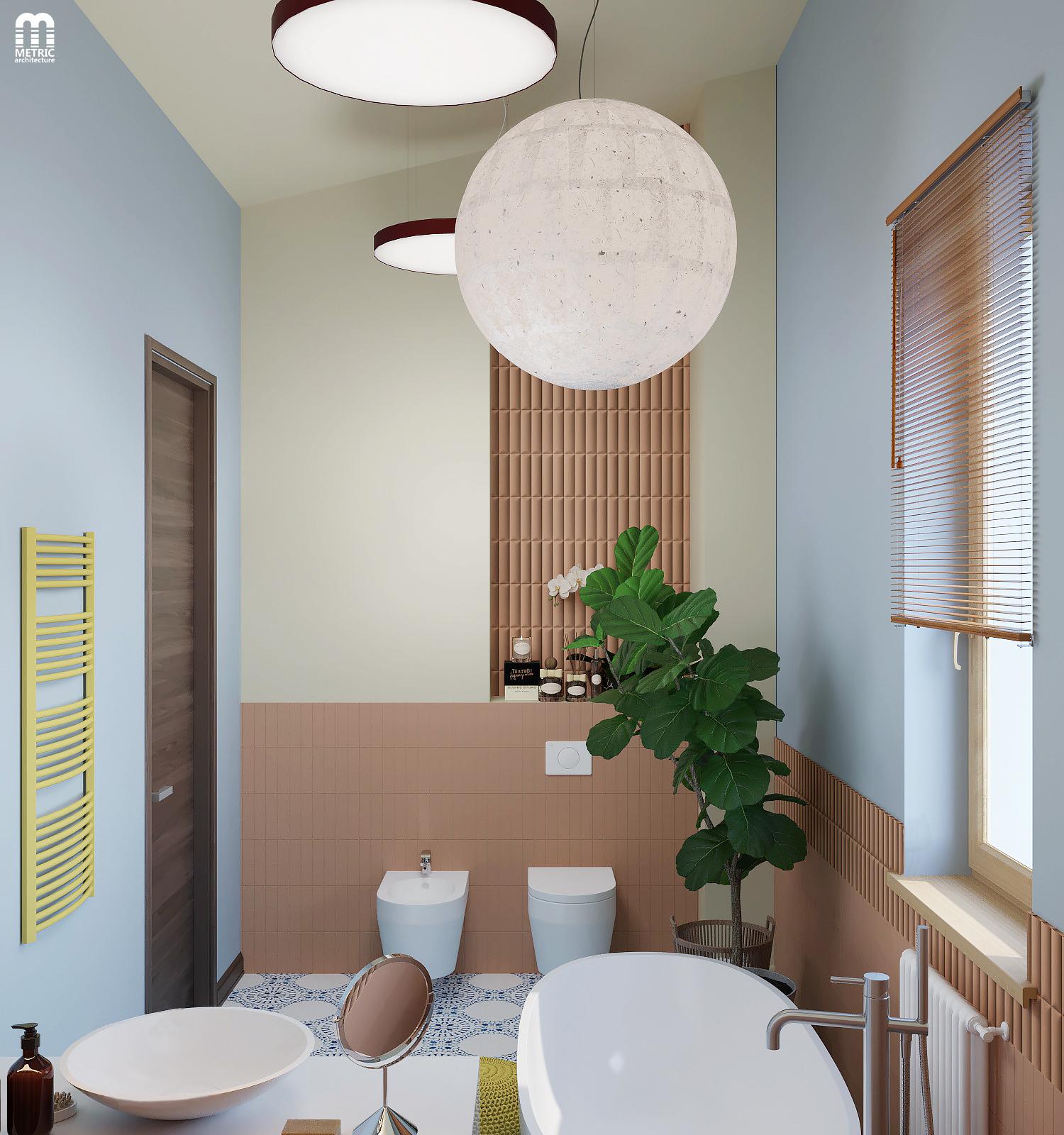 Интерьер ванной METRIC Минск