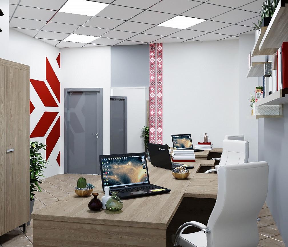 Интерьер офиса METRIC Минск