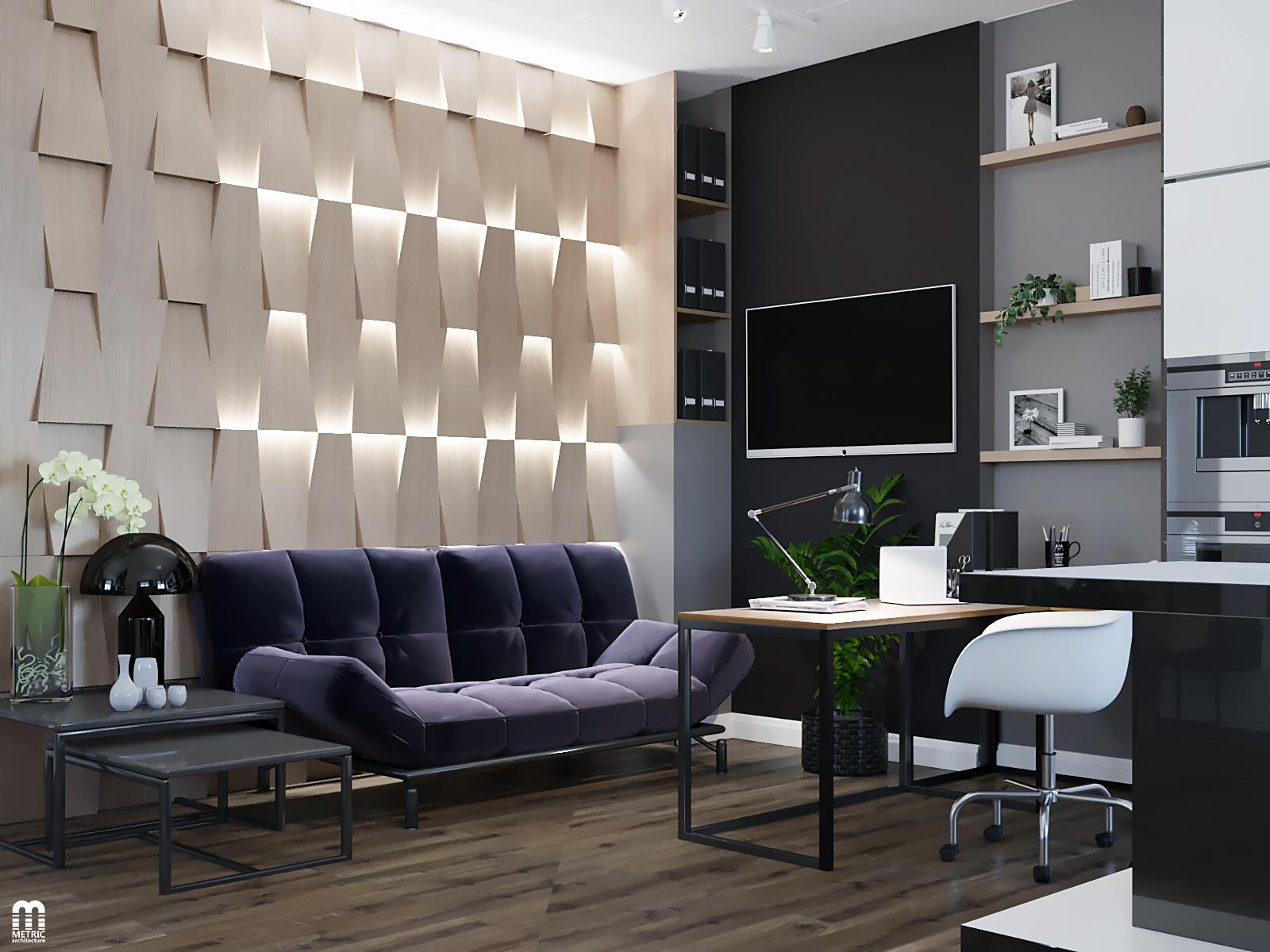 Дизайн интерьера офиса METRIC Минск