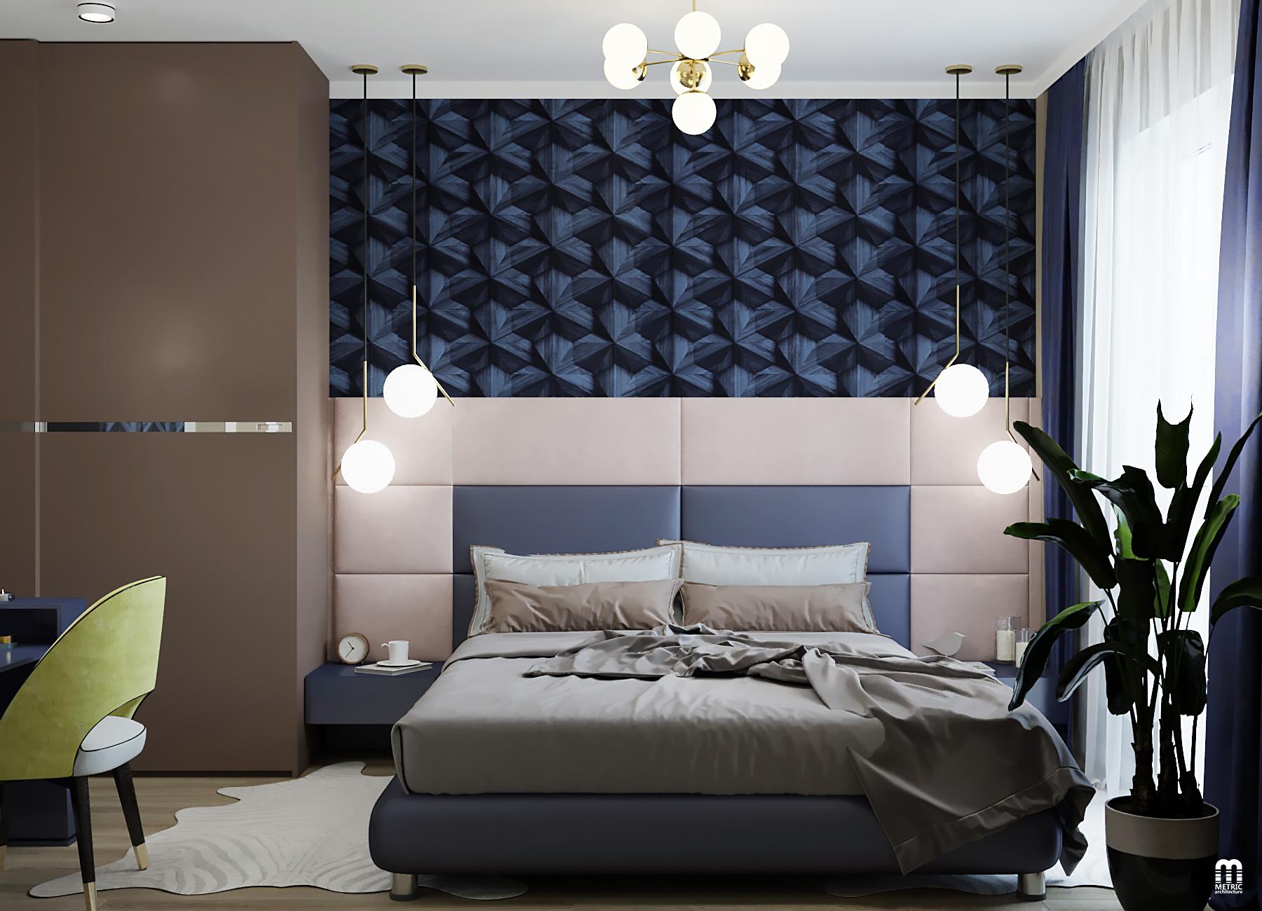 Дизайн спальни METRIC Минск