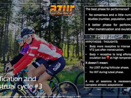 Episode # 3: Can we define a better period for training and performance for female cyclists?