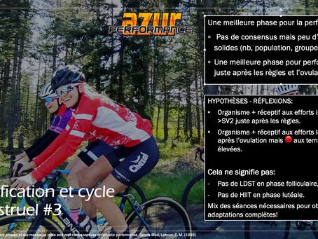 Épisode #3: pouvons-nous définir une période plus propice à la performance chez la femme cycliste?