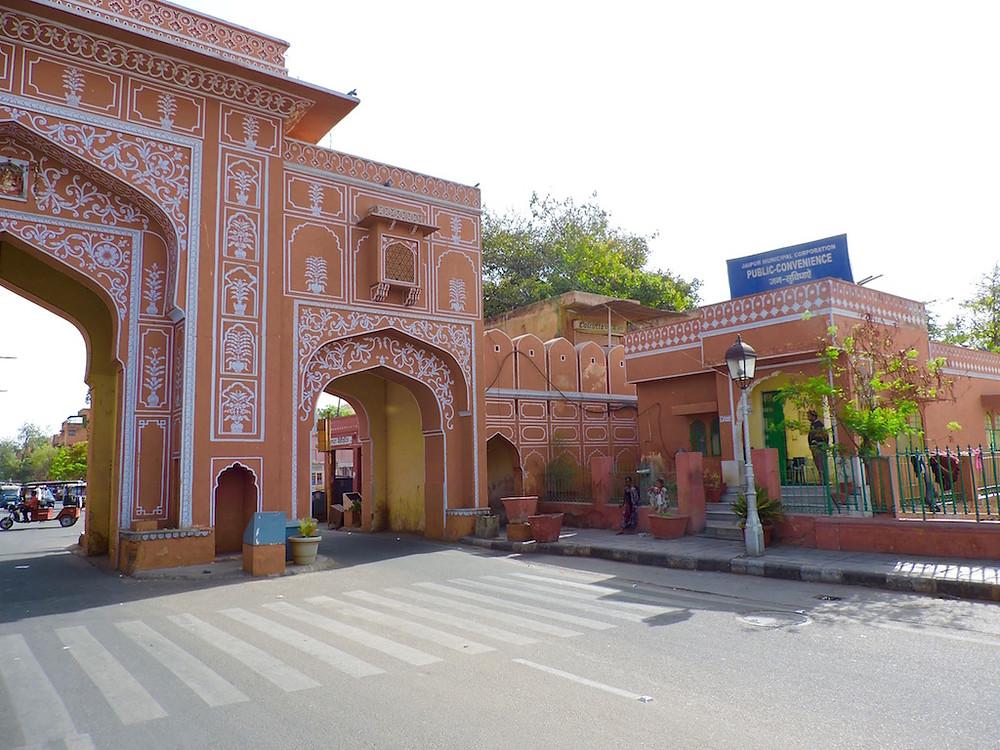 Pink City Gates