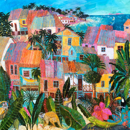 Travel Around The World With Ellie Hesse's Wonderland Townscapes