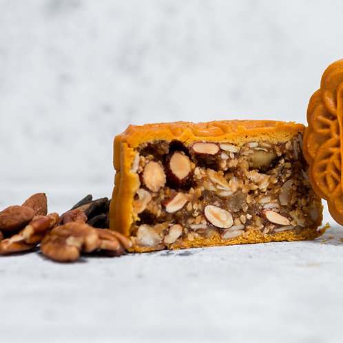 ASSORTED NUTS MOONCAKE (BOX OF 4) 经典伍仁月饼