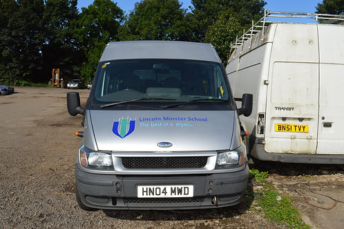 2004 Ford Transit Mini Van for Breaking/Parts Only