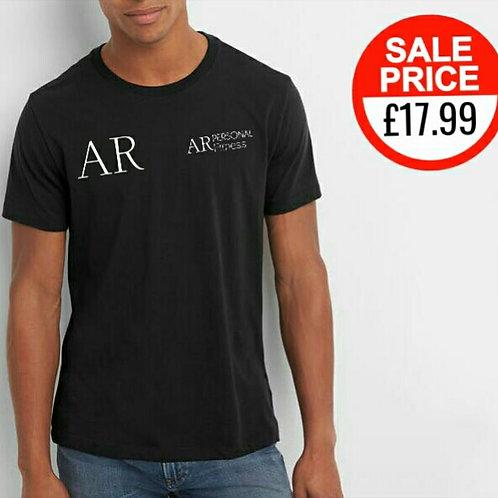 AR Personal Fitness logo t-shirt