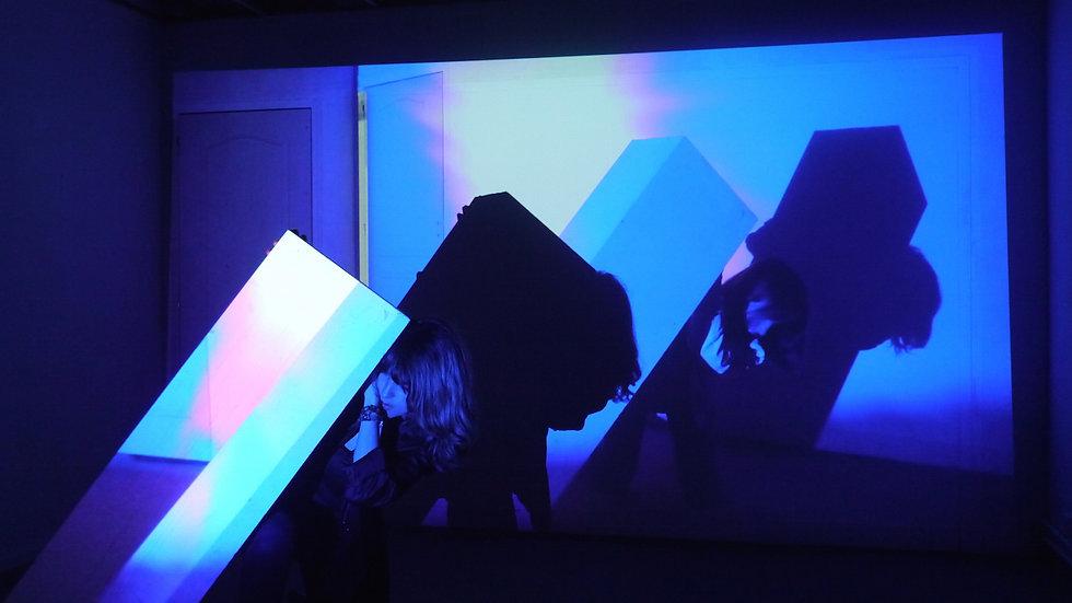 Divine Enfant, visual artist, artiste, installation 2016