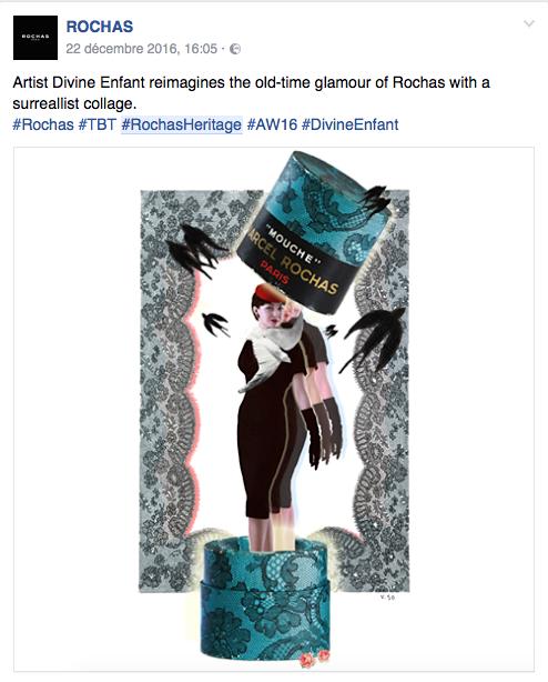 Divine Enfant for Rochas heritage