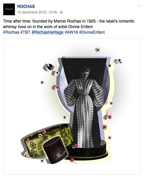 Rochas heritage by Divine Enfant