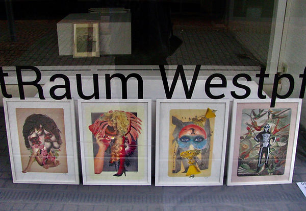 exhibition at the Kunstverein Kunstraum Westpfalz KL, Divine Enfant, visual artist 2021