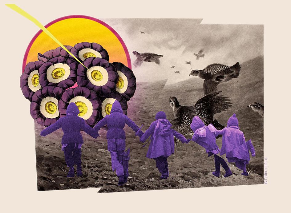 """ Purple rain """