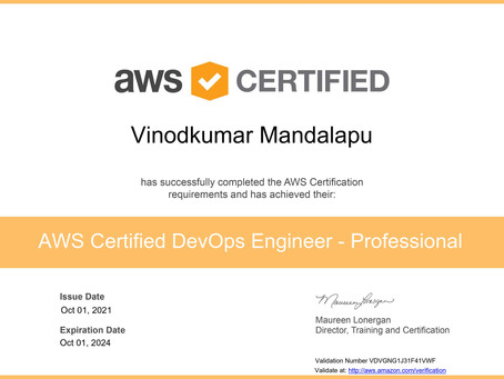 How I passed AWS Devops Professional Certification