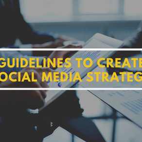 Some guidelines to create social media strategy