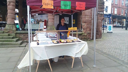 My first stall at Ross-on-Wye