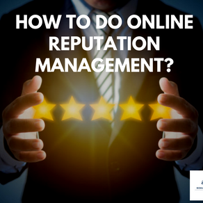 How to do online reputation management?