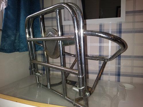 Vespa fold down rear rack and spare wheel holder