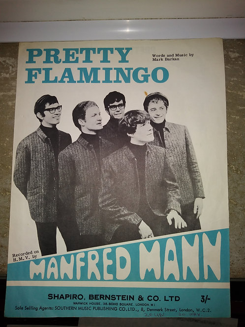 Pretty Flamingo - Manfred Mann sheet music