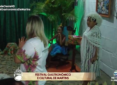 MELHORES MOMENTOS DO FESTIVAL GASTRONÔMICO DE MARTINS DIA 26/07/2019