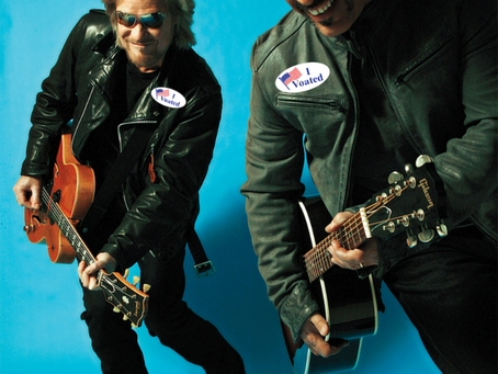 Daryl Hall & John Oates, Twilio, and Lyft Power Getting Out The Voates
