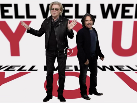 """Celebrities Perform """"You Make My Dreams"""" by Daryl Hall & John Oates for Red Nose Day Charity"""