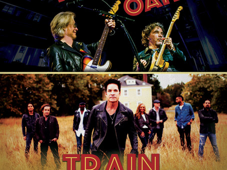 DARYL HALL & JOHN OATES AND TRAIN JOIN FORCES FOR MONUMENTAL CO-HEADLINE SUMMER 2018 TOUR