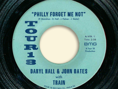 """DARYL HALL & JOHN OATES AND TRAIN RELEASE NEW SONG  """"PHILLY FORGET ME NOT"""" AHEAD OF CO-HEADLINE"""