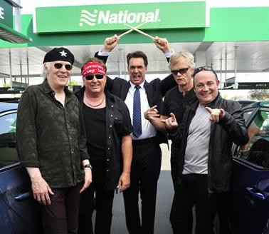 LOVERBOY STARS IN NEW NATIONAL CAR RENTAL ADVERTISING CAMPAIGN WITH SEINFELD'S PATRICK WARBURT