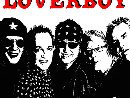 """LOVERBOY RELEASES NEW SINGLE, """"HURTIN,"""" Readies Tour Dates Through End of Year Including"""