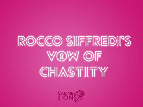 Rocco Siffredi's vow of chastity