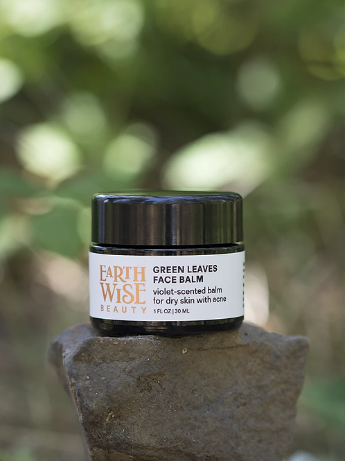 Earthwise Green Leaves Face Balm