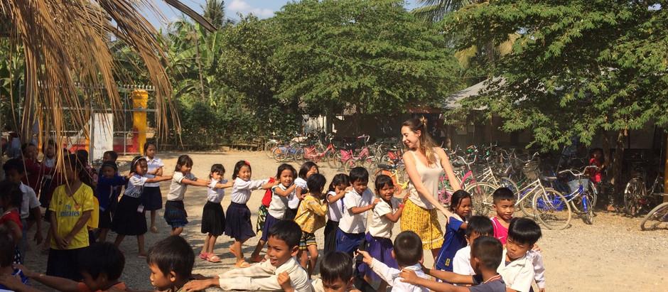 Voluntariado no Camboja