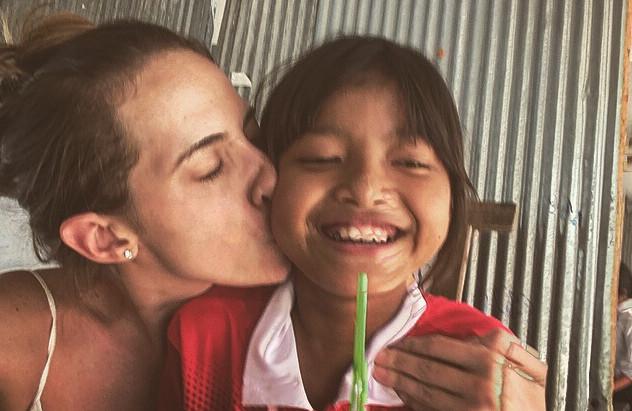 Borboletas no Camboja