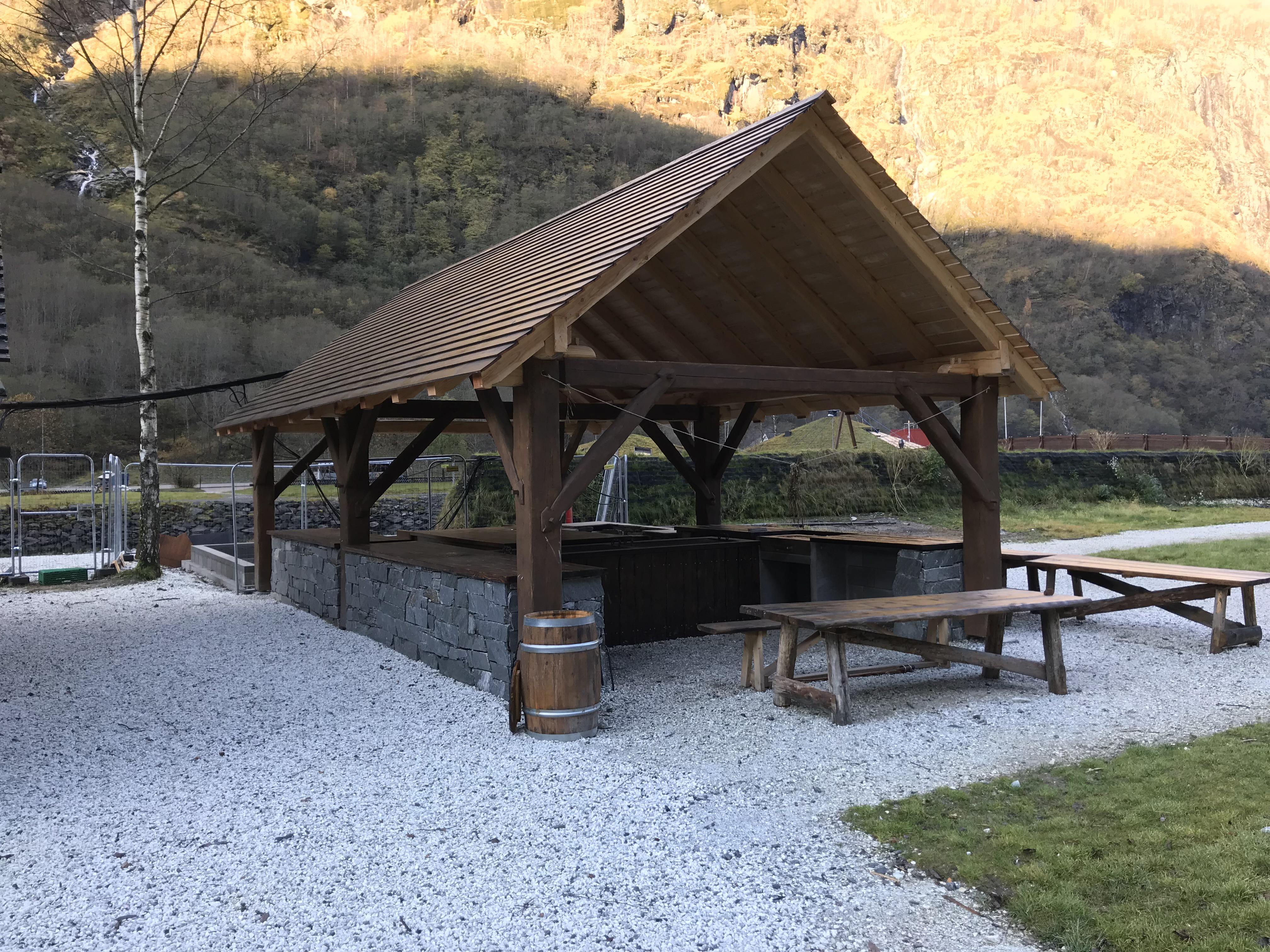Grindbygg Gudvangen Viking center